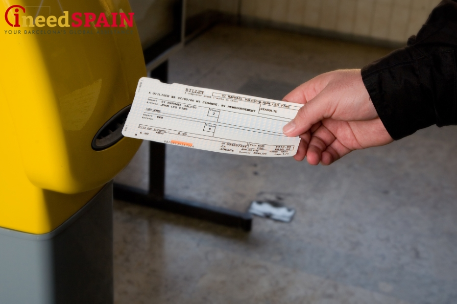Barcelona railway tickets